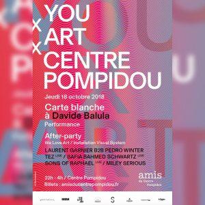 You X Art X Centre Pompidou