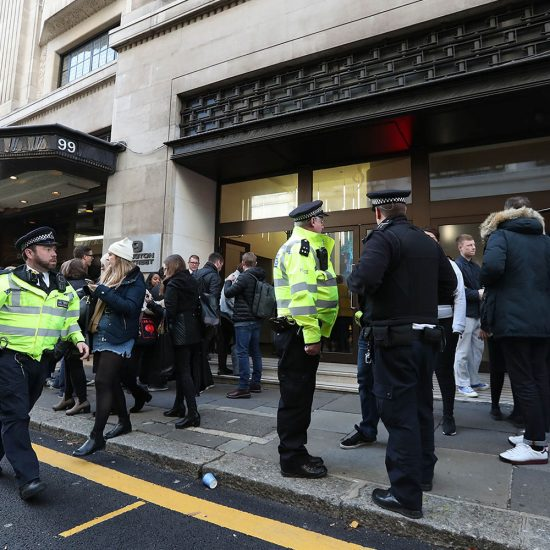 Violent Altercation At Sony Music UK