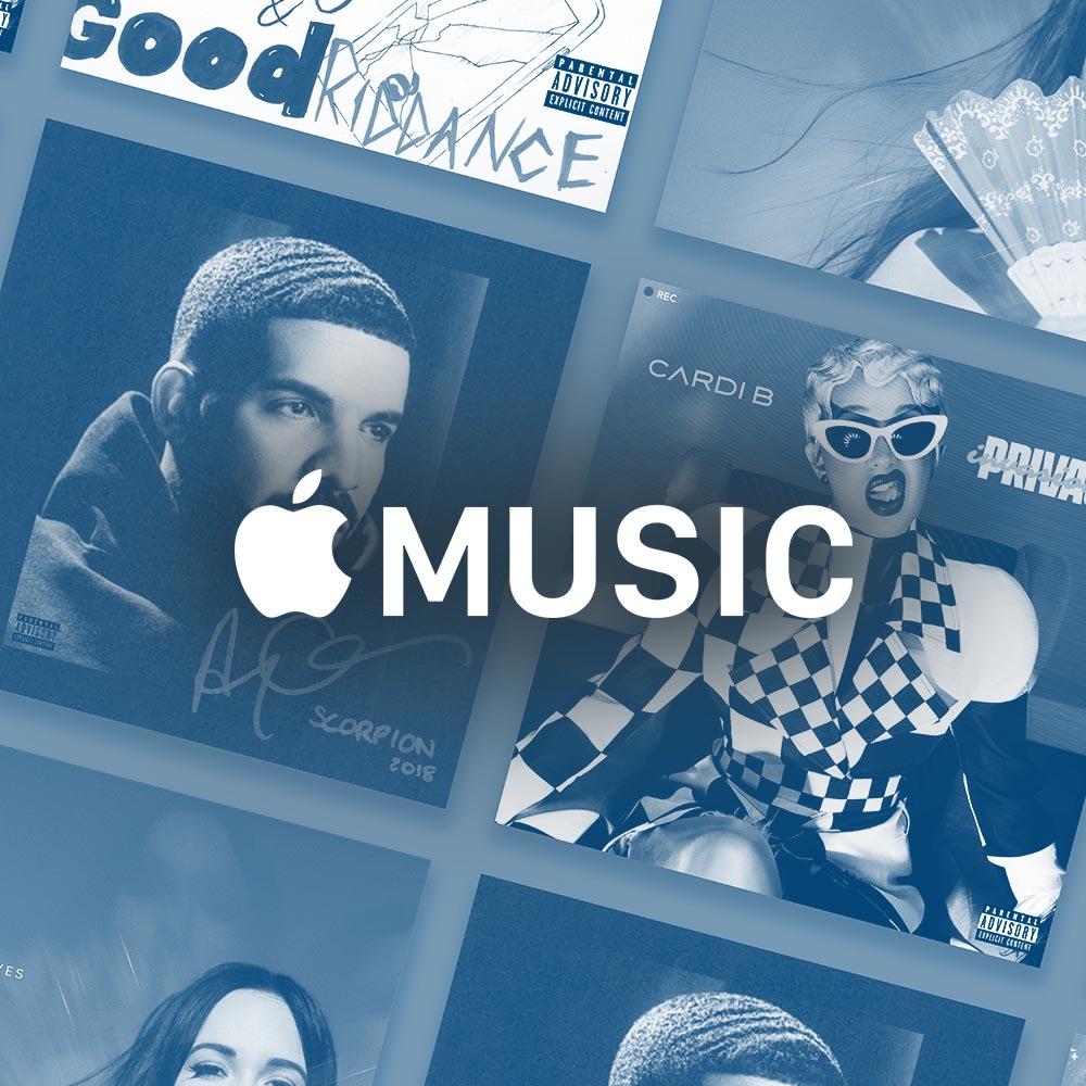 Top 100 Apple Music 2018