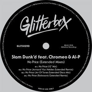 Slam Dunk'd & Chromeo Release 'No Price' On Glitterbox